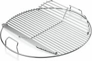 Grill Cooking Grate 22 Steel Rack Round Grid Bbq Part Replacement Heavy Duty