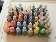 48 Polymark Dimensional Fabric And Craft Paint Pen Bottles Assorted Colors Lot7