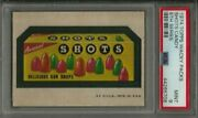 1974 Topps Wacky Packages Shots Candy 5th Series Psa 9 Mint Non-sport Card