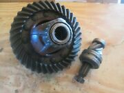 Oliver Tractor Four Wheel Drive Ring Gear And Pinion With Differential Assembly