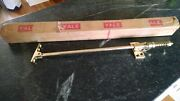 Nos Antique 1930s Brass Yale Door Holder And Shock Absorber Extremely Rare Massive