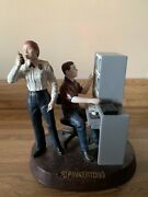 Pinkerton Police/security Services Resin Statue From Year 2000-rare