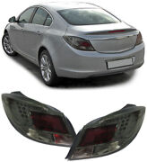 All Smoked Led Tail Lights Lamps For Opel Insignia 2008-5/2013 Nice Gift