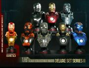 Hot Toys 1/4 Collectible Bust Deluxe Set Series 2 Iron Man 3 Htb21-27