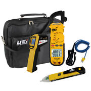Uei Hvackit Dl479 Trms Ac Clamp Meter W/ Inf165c, Ncv Tester And Attpc