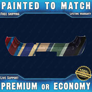 New Painted To Match Rear Bumper Replacement For 2005-2007 Nissan Pathfinder Suv