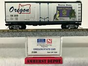 Micro Trains Oregon State Car N Scale Or State Boxcar 21384