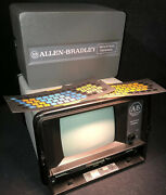 Nos Allen-bradley Ab Industrial Terminal 1770-ta. Missing Keyboard And Cords
