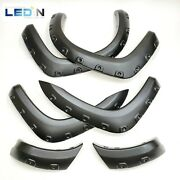 Fender Flares For 2005-2011 Ty Tacoma Wide Pocket Style Texture 6 Pcs Long Bed