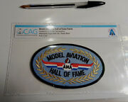 Neil Armstrong Collection Model Aviation Hall Of Fame Patch And Certification