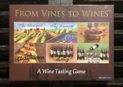 Urban Trend From Vines To Wines A Wine Tasting Game Adult Learning Board Game