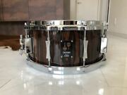 2015 Sonor Ooak15-1465sdwd One-of-a-kind Snare Drum World Only 80 Rare