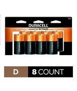 Duracell - Coppertop D Alkaline Batteries With Recloseable Package - Long...