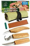 Wood Сarving Chisels New Tool Set Hook Knife Spoon Knives Detail Whittling Knife