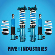Five8 Industries Coilovers Height Adjustable For Elantra 11-15 / Kia Forte 14-16