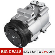 Ac Compressor For 1997 -2006 For Ford F-150 Heritage 4.2l 4.6l 5.4l 58151