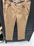 Moschino Chic And Cheap Italy Womens Pants Denim Jeans Us Size 12