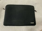 Incase Padded Laptop Sleeve For 15 Or 16 Laptops Black Used Double Zipper