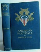 Rare❤️ American Football_1896 Antique Book_coach_rugby_names Inside_comp @ 1400