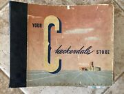 Rare Vintage Ralston Purina Your Checkerdale Store Salesmanand039s Binder Info Book