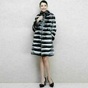 Chinchilla Fur Coat Above Knee Length Womenand039s Brand New Manufacturer