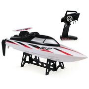 Wltoys Wl912-a 2ch Brushless 35km/h High Speed Rc Racing Boat White Xmas D1f9
