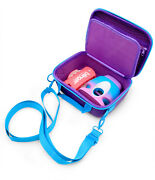 Toy Box Case For Go Glam Nail Stamper And Blinger Deluxe Purple Teal Case Only