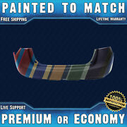 New Painted To Match - Rear Bumper Cover For 2008-2015 Nissan Rogue Suv 08-15