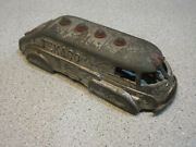 Vintage Hubley Texaco Gas Oil Tanker Truck Shell Only 4 3/4 Die Cast Toy