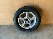 Bmw 2000-2006 E53 X5 Rear In Trunk Spare Wheel Rim With Tire Like New Oem 105k