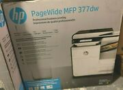 New Hp Pagewide Mfp 377dw Color All-in-one Business Printer Wireless Sealed