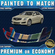 New Painted To Match - Front Bumper Replacement For 2013 2014 Cadillac Ats 13 14