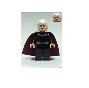 New Lego Count Dooku - White Hair From Set 75017 Star Wars Episode 2 Sw0472