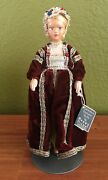 Peggy Nisbet H/222 Anne Of Cleves 4th Queen Of Henry 8 Vintage Doll Figure W/tag