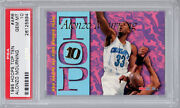 1995 Hoops Top Ten Ar6 Alonzo Mourning Psa 10 Pop Only 2 Very Rare