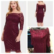 Torrid Special Occasion Lace Dress