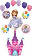 Sofia The First Party Supplies Castle Birthday Balloon Bouquet Decorations