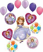 Sofia The First Party Supplies Happy Birthday Balloon Bouquet Decorations