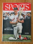 Ted Williams Sports Illustrated August 1, 1955 Magazine Boston Red Sox No Label