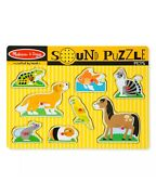 Melissa And Doug Pets Sound Puzzle All Brand New