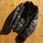 Vivienne Westwood Red Tag Model Mouton Jacket Black Size 44 From Italy Rare