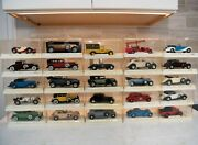 Lot Of 25 Vintage Solido 1/43 Scale Metal Model Cars Mint Never Been Out Of Box