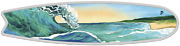 2020 Perth Mint Surfboard 2 Oz 2 Two Dollar Silver Proof Coin Tuvalu