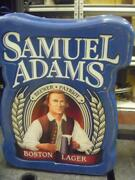 Electric Samuel Adams Boston Lager Beer Sign Bar Collectible By Everbrite