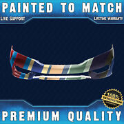 New Painted To Match Front Bumper Cover Fascia For 2016 2017 Honda Accord Coupe