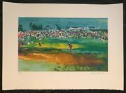 Leroy Neiman Home Hole At Shinnecock Limited Edition Serigraph