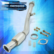 For 13-20 Frs Brz Gt86 Jdm Stainless Steel Front Downpipe Exhaust W/ Resonator