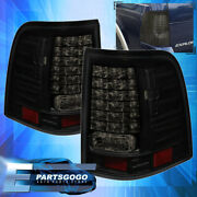 For 02-05 Ford Explorer Led Brake Stop Tail Lights Lamps Left+right Black Smoked