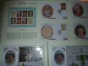 Queen Mother Collection Fdc's Unmounted Stamps Minature Sheets Over 60 Items