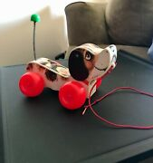Vintage 1965 Fisher Price Little Snoopy Dog Pull String Toy